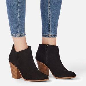 JustFab Shoes - JUSTFAB Western Wild Block Heel Bootie Size 7.5
